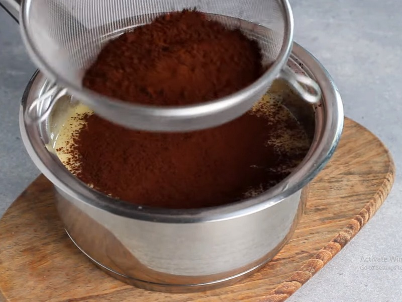 Торт Медовик Шоколадный пошагово с фото