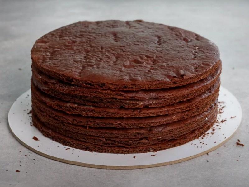 Медовик шоколадный рецепт в домашних условиях