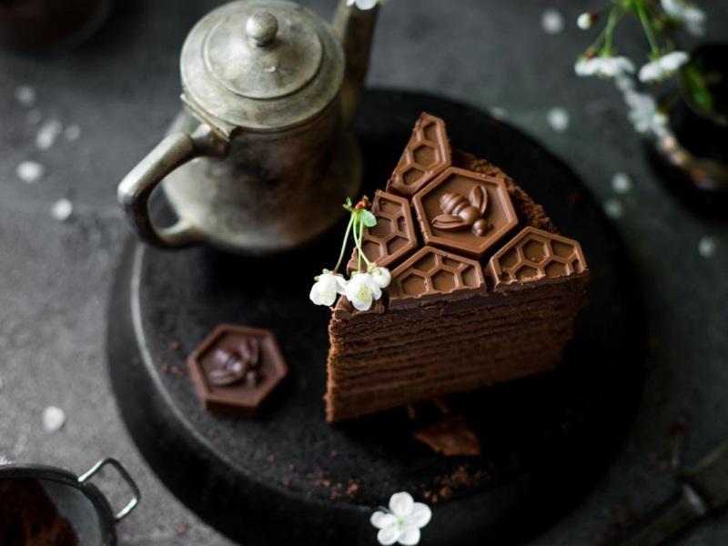 шоколадный медовик рецепт пошагово