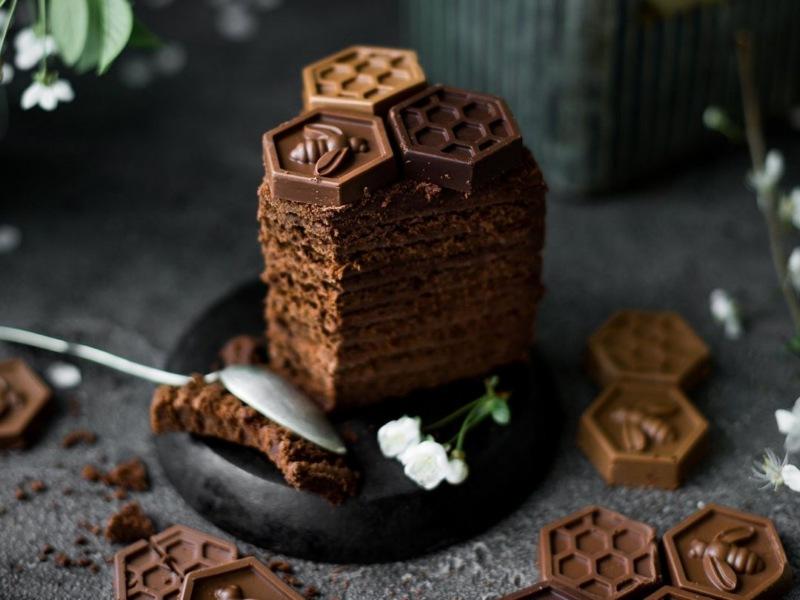 спартак шоколадный медовик