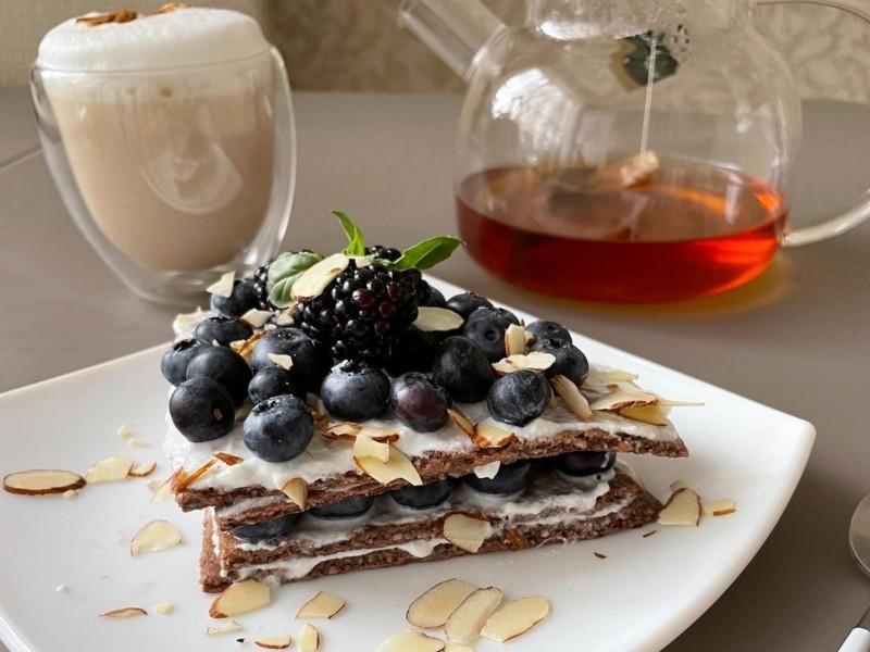 Шоколадный овсяноблин рецепт