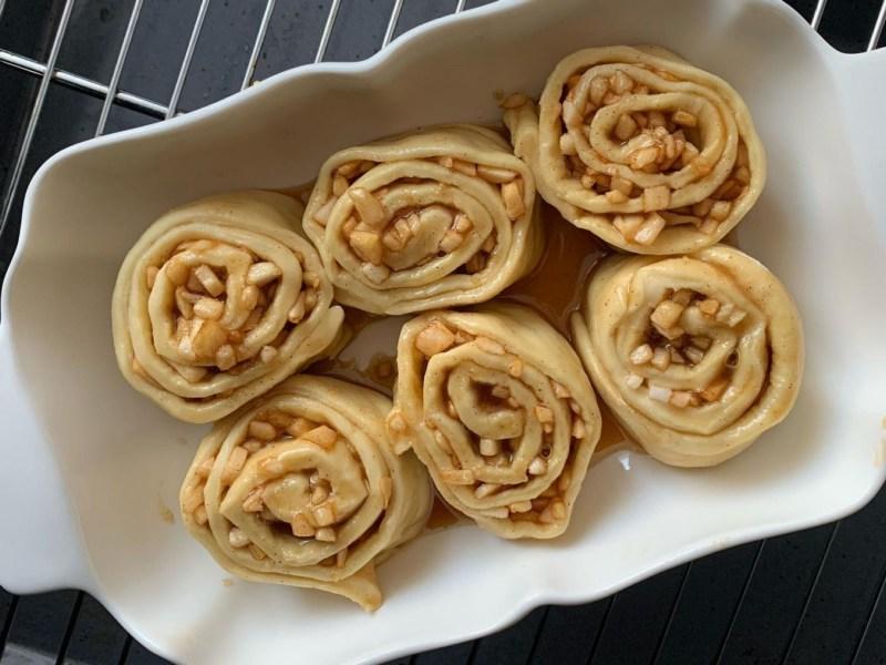 Синнабоны с глазурью рецепт пошагово с фото