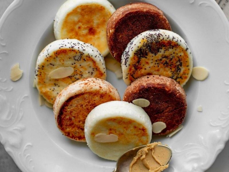 Сырники с рикоттой на рисовой муке