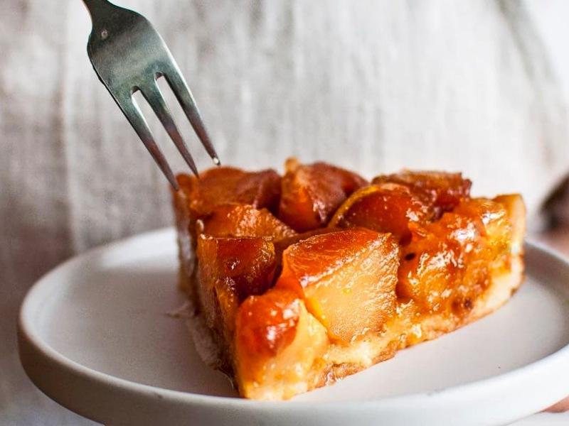 Тарт татен с яблоками французский классический рецепт