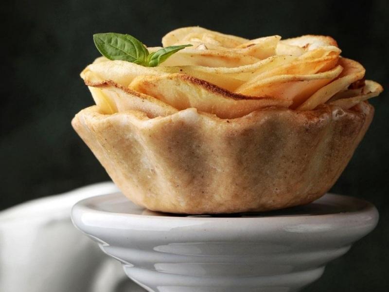 Тарталетки с пряными яблоками рецепт