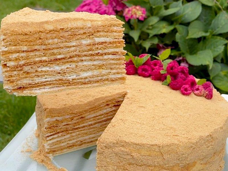 Торт Медовик самым вкусным кремом