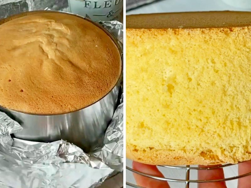 Торт Невеста бисквитный рецепт