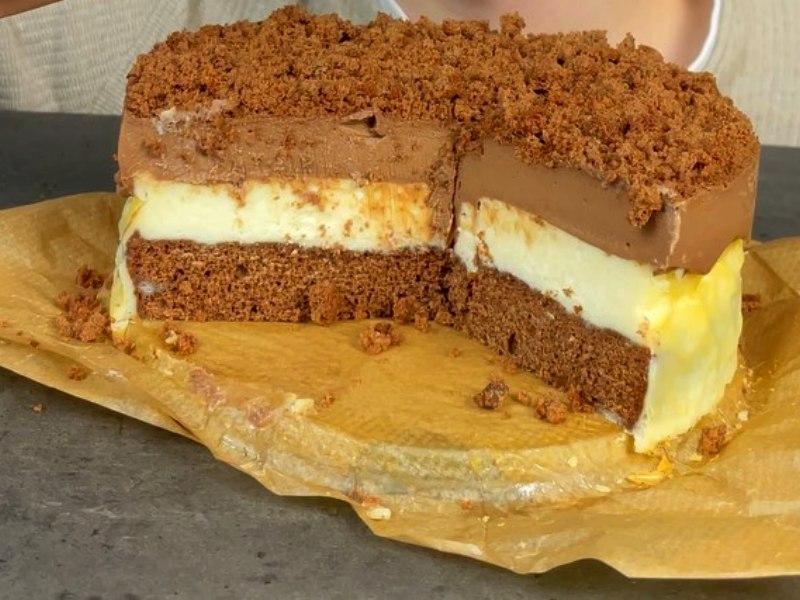 Шоколадный торт Двойной Чизкейк