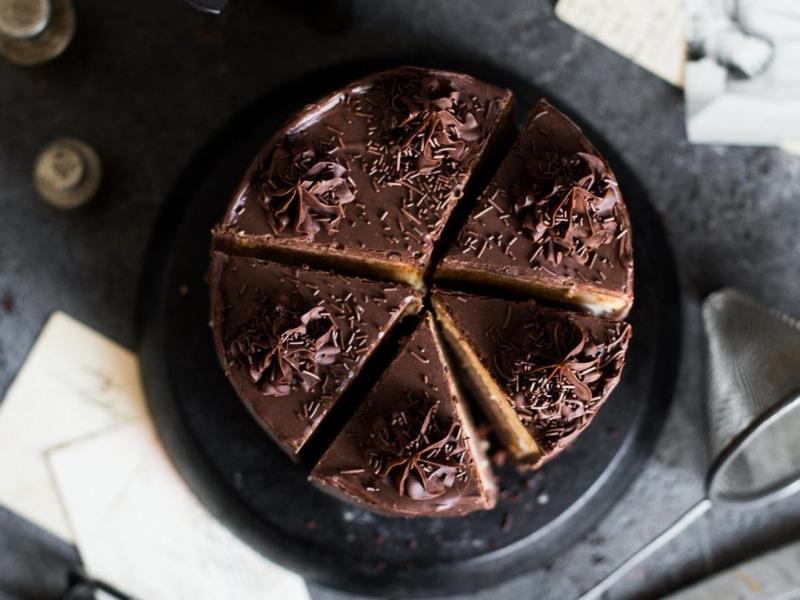 Торт Три шоколада бисквитный рецепт