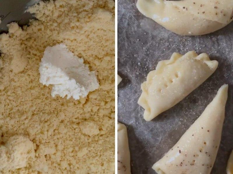 Творожное печенье с яблоками рецепт в духовке