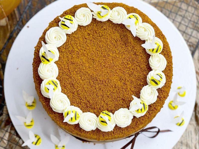 торт ленивый медовик медовик без раскатки