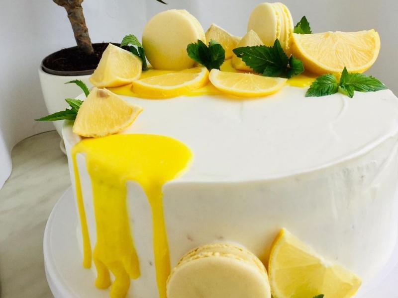 маковый торт с курдом