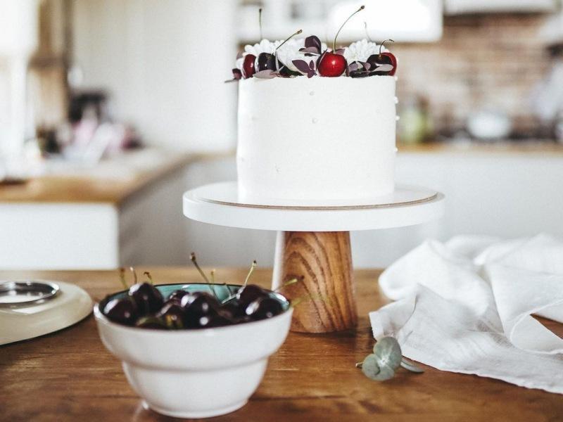 как сделать персиковый торт