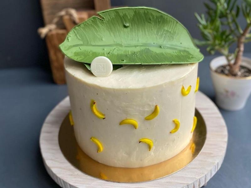 Шоколадно-банановый торт Бали рецепт