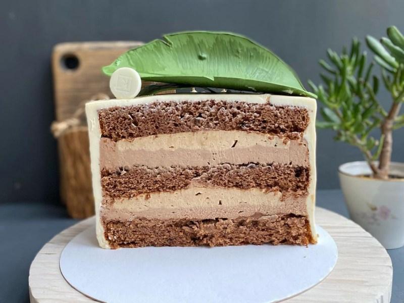 Шоколадно-банановый торт Бали 🍌 рецепт