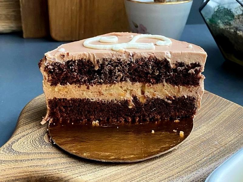 Торт Бенто кейк Шоколадная карамель