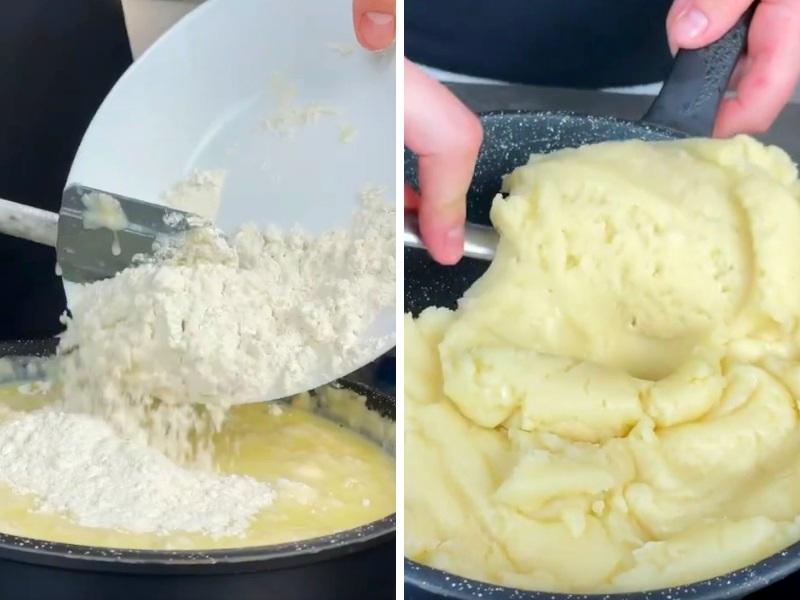 Заварные булочки рецепт